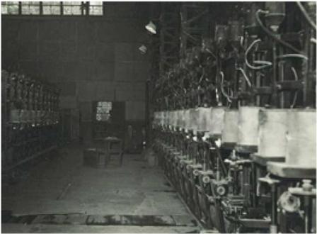 昭和40年頃の工場内